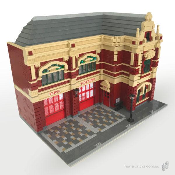 LEGO Former Bendigo Fire Station