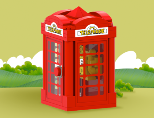 Telephone Box .lxf/.io & Sticker Artwork
