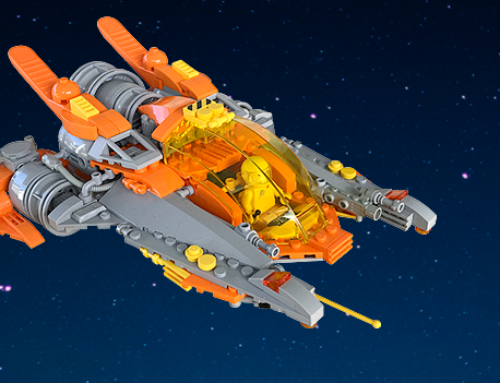 QuickBuild: Spaceship